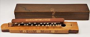 細工装飾の大正琴