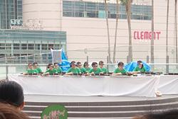「第27回国民文化祭・とくしま2012PR演奏