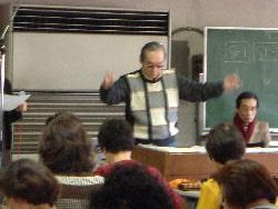 作曲家宮川泰先生指導による合同練習