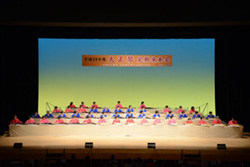 長野県にあった高遠藩と縁の深い会津での演奏会