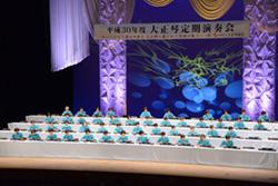 最後の定期演奏会は琴伝流の地元長野県で